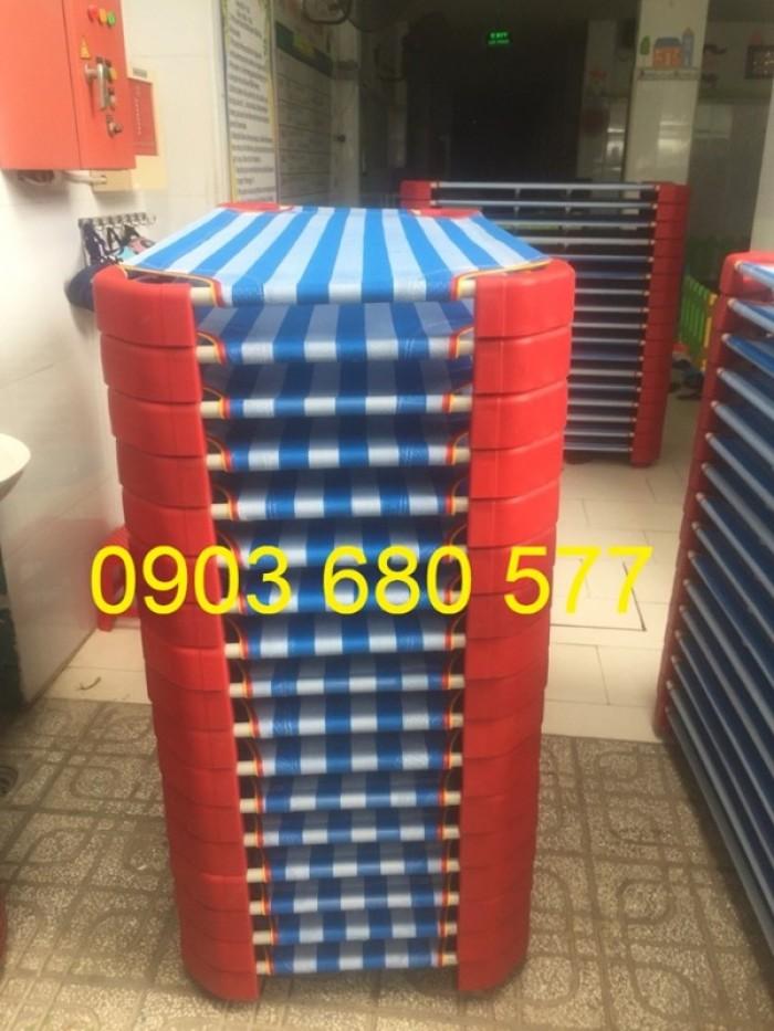 Cần bán giường ngủ lưới mầm non dành cho trẻ nhỏ giá ưu đãi19