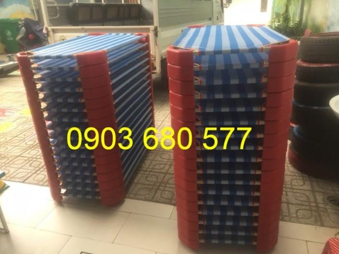 Cần bán giường ngủ lưới mầm non dành cho trẻ nhỏ giá ưu đãi10