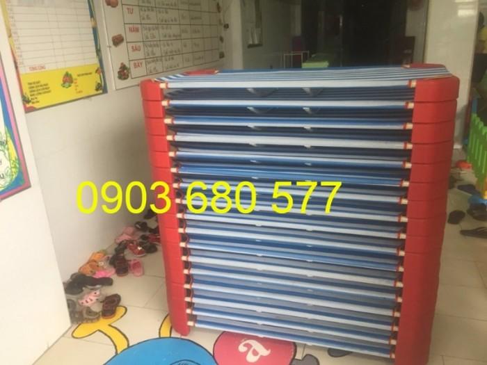 Cần bán giường ngủ lưới mầm non dành cho trẻ nhỏ giá ưu đãi11