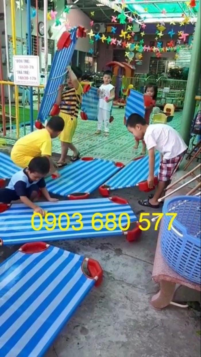 Cần bán giường ngủ lưới mầm non dành cho trẻ nhỏ giá ưu đãi27