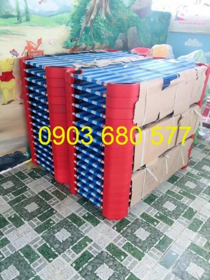 Cần bán giường ngủ lưới mầm non dành cho trẻ nhỏ giá ưu đãi20