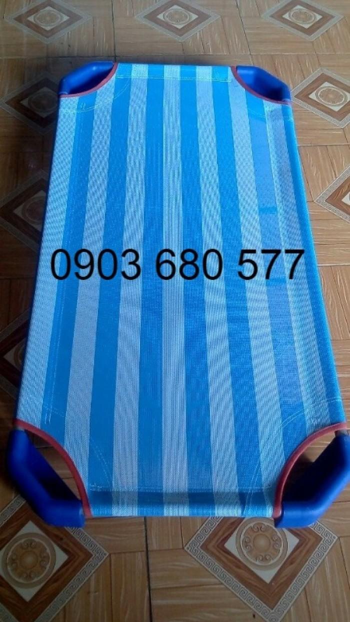 Cần bán giường ngủ lưới mầm non dành cho trẻ nhỏ giá ưu đãi30
