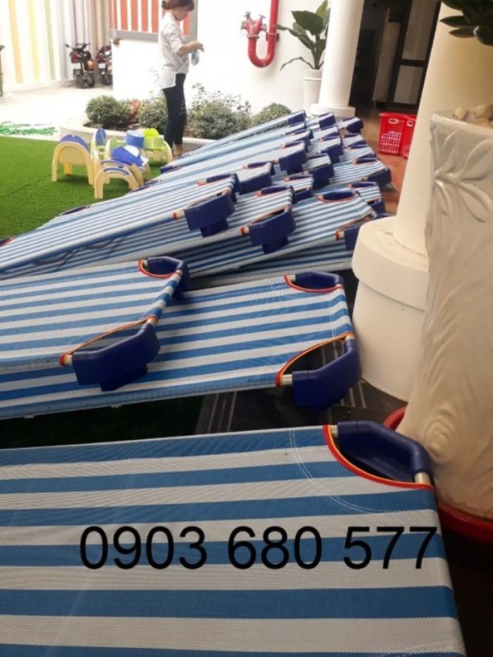Cần bán giường ngủ lưới mầm non dành cho trẻ nhỏ giá ưu đãi26