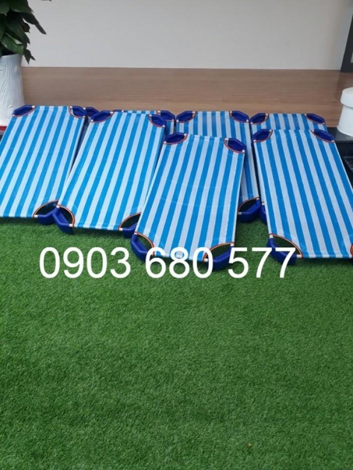 Cần bán giường ngủ lưới mầm non dành cho trẻ nhỏ giá ưu đãi24