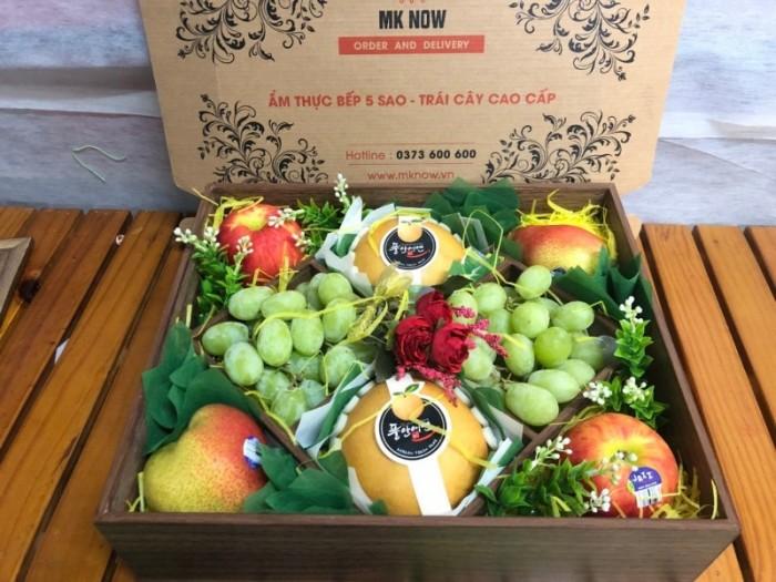 Hộp quà trái cây nắp kính - FSNK1040