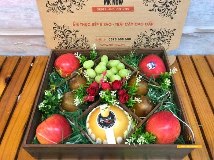 Hộp trái cây quà tặng Giáng Sinh - FSNK1031