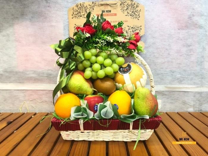 Giỏ quà trái cây 20/10 MKnow - FSNK1080