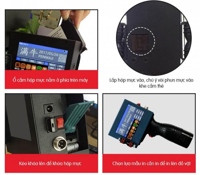 Máy in date cầm tay mini giá rẻ BSR-H3 in trên mọi chất liệu6