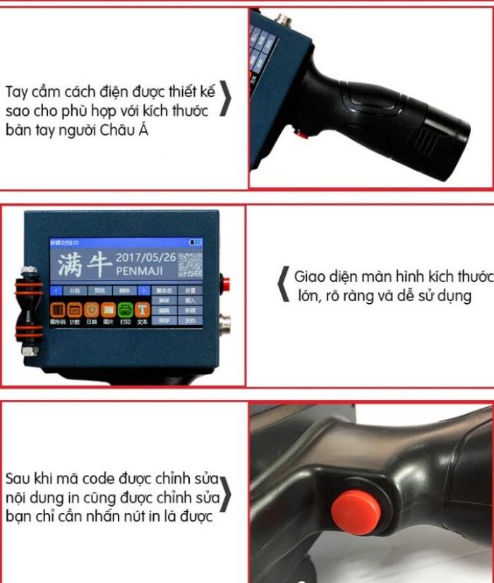 Máy in date cầm tay mini giá rẻ BSR-H3 in trên mọi chất liệu10