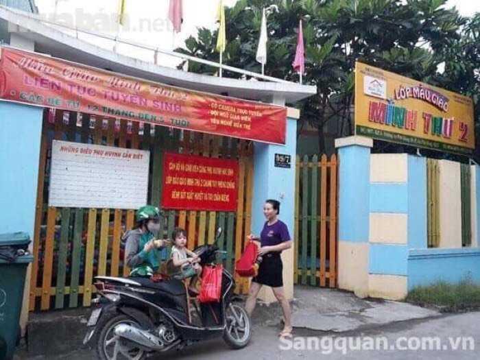 Bán căn nhà cách Quốc Lộ 1A 500m An Phú Đông 10 .Q12.