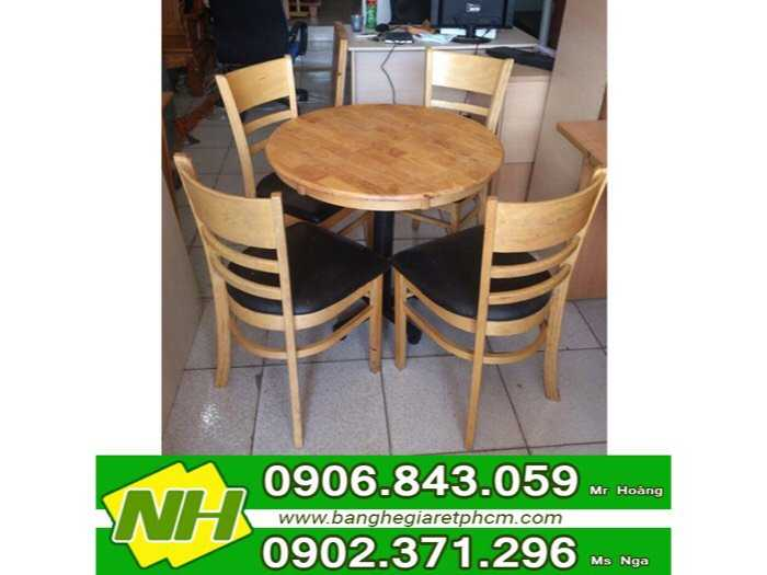 bàn ghế gỗ xếp sơn màu giá rẻ1