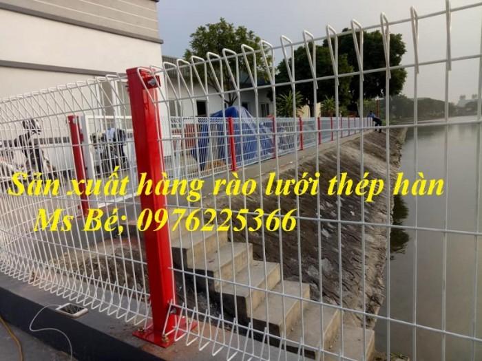 Mẫu hàng rào đẹp, Hàng rào bảo vệ, hàng rào khu công nghiệp2