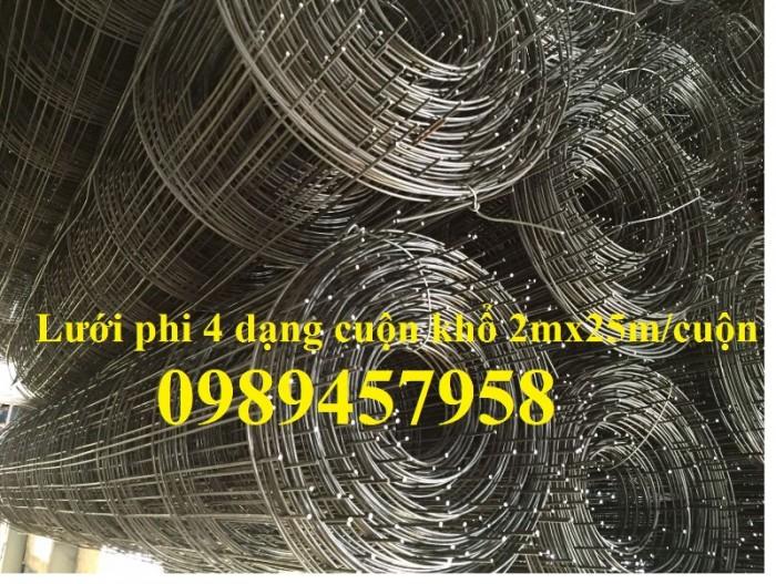 Bán Lưới đổ bê tông phi 3 chống thấm và chống nứt , Lưới thép hàn phi 4 50x50, 100x1004