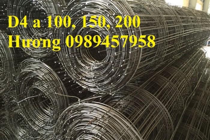 Bán Lưới đổ bê tông phi 3 chống thấm và chống nứt , Lưới thép hàn phi 4 50x50, 100x1005