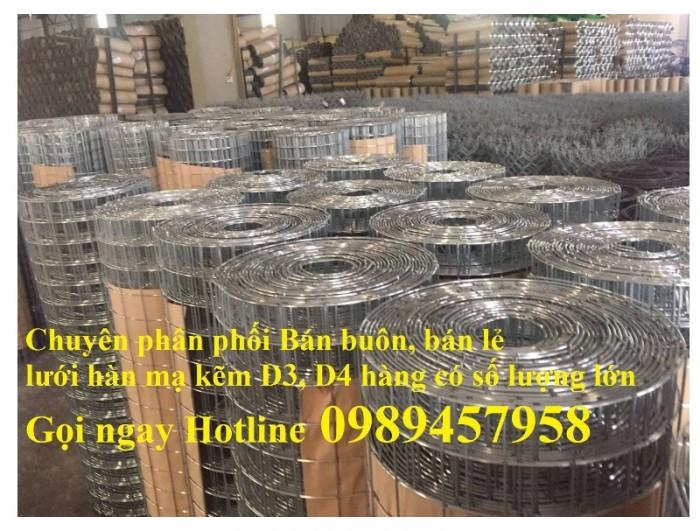 Bán Lưới đổ bê tông phi 3 chống thấm và chống nứt , Lưới thép hàn phi 4 50x50, 100x1006