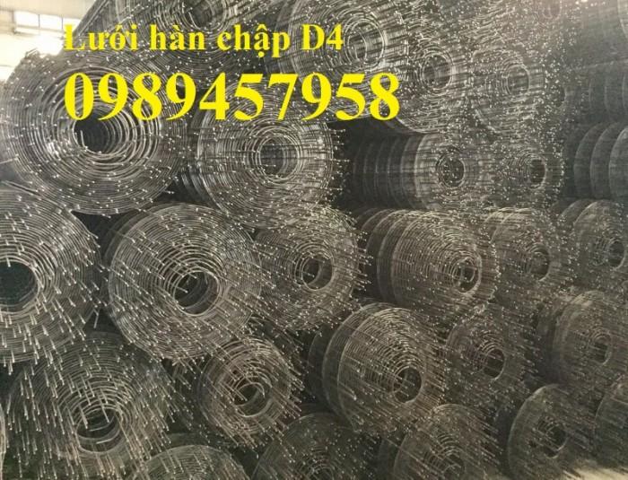 Bán Lưới đổ bê tông phi 3 chống thấm và chống nứt , Lưới thép hàn phi 4 50x50, 100x1007