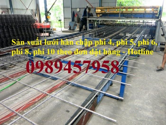 Lưới thép phi 6 ô 100x100, 150x150, 200x200, Lưới thép A6 200x200, D6 100x1007
