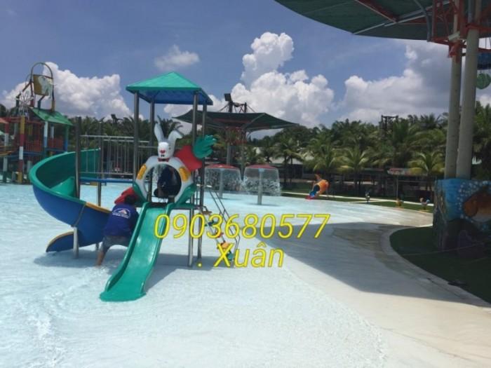 Chuyên bán cầu trượt mầm non cho trường học, công viên, khu vui chơi21