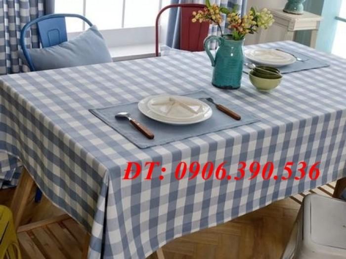 Khăn trải bàn ca rô đẹp, sang trọng4