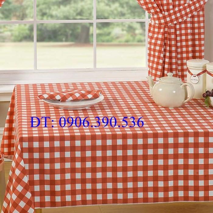 Khăn trải bàn ca rô đẹp, sang trọng16