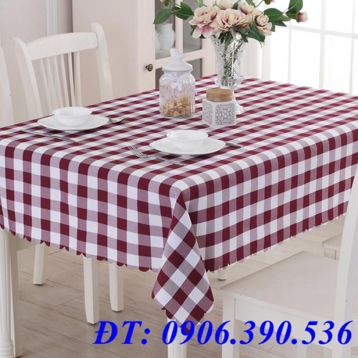 Khăn trải bàn ca rô đẹp, sang trọng14