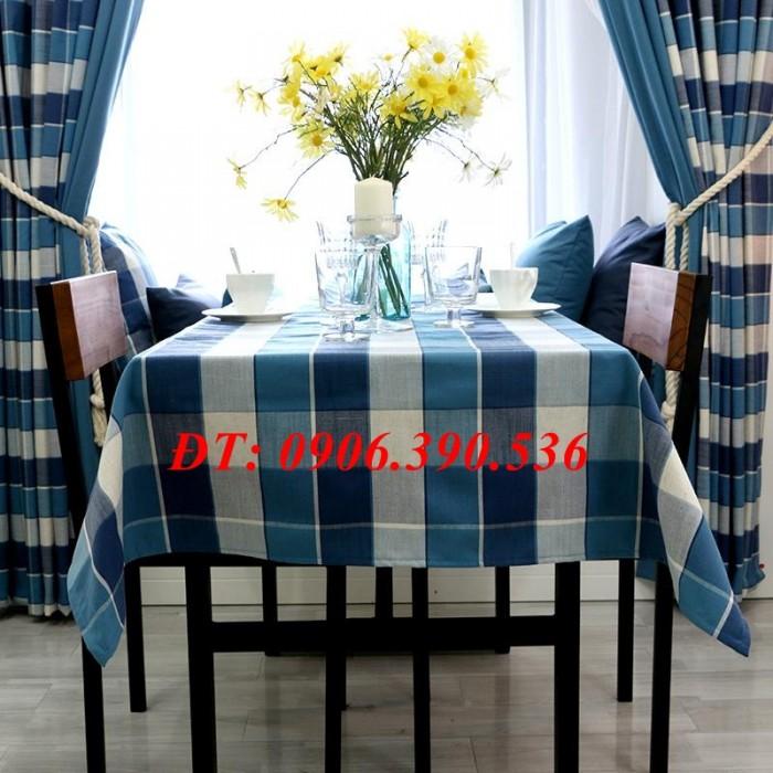 Khăn trải bàn ca rô đẹp, sang trọng13