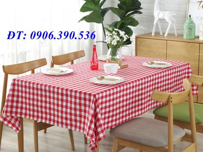 Khăn trải bàn ca rô đẹp, sang trọng8