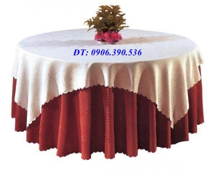 Khăn trải bàn gấm hoa văn sang trọng3
