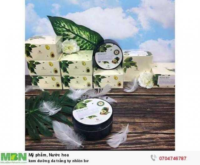 kem dưỡng da trắng tự nhiên bơ1