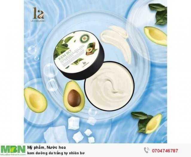 kem dưỡng da trắng tự nhiên bơ2
