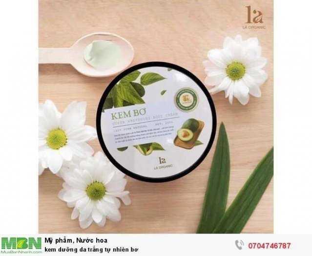 kem dưỡng da trắng tự nhiên bơ3