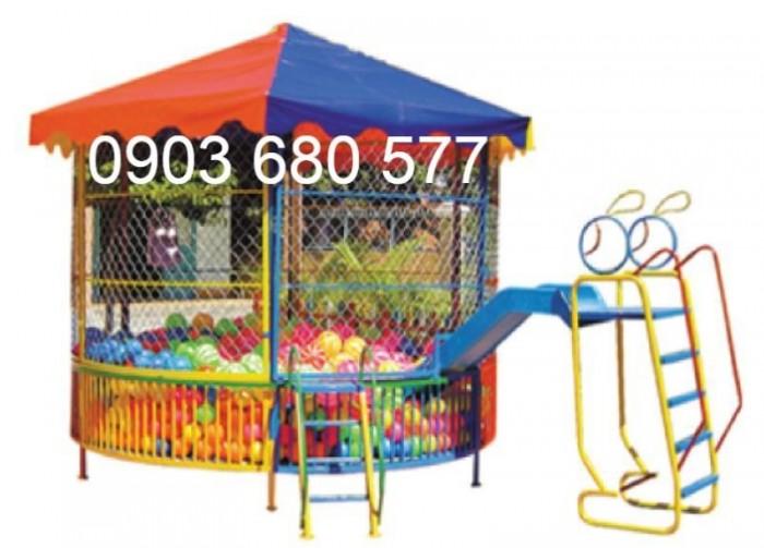 Bán nhà banh trong nhà và ngoài trời cho trẻ em giá rẻ, chất lượng cao6