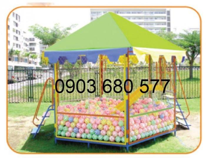 Bán nhà banh trong nhà và ngoài trời cho trẻ em giá rẻ, chất lượng cao9