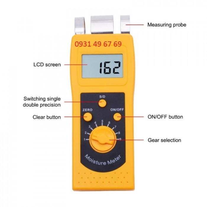 Máy đo độ ẩm vải, sợi bông DM200T0