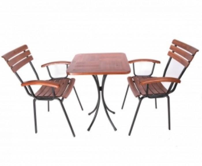 Thanh lý bộ bàn ghế cafe chân sắt sân vườn cao cấp giá rẻ tphcm1