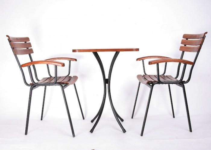 Thanh lý bộ bàn ghế cafe chân sắt sân vườn cao cấp giá rẻ tphcm3