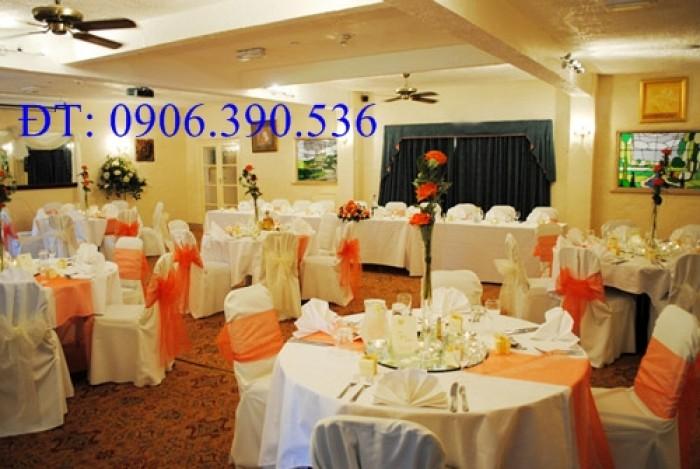chuyên cung cấp nơ ghế, áo ghế nhà hàng tiệc cưới2