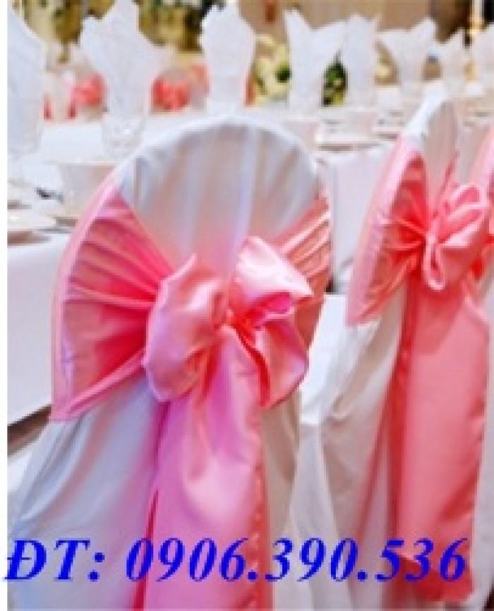 chuyên cung cấp nơ ghế, áo ghế nhà hàng tiệc cưới7