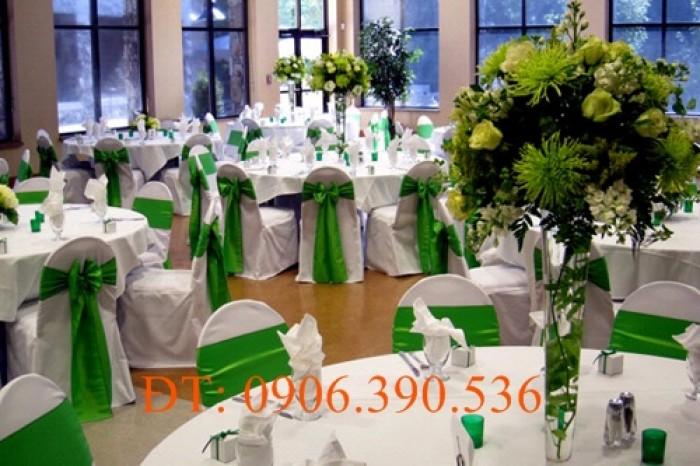 chuyên cung cấp nơ ghế, áo ghế nhà hàng tiệc cưới6