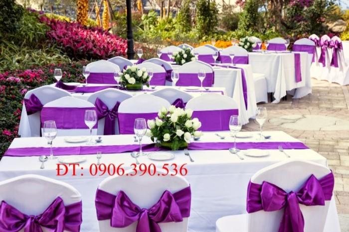 chuyên cung cấp nơ ghế, áo ghế nhà hàng tiệc cưới14