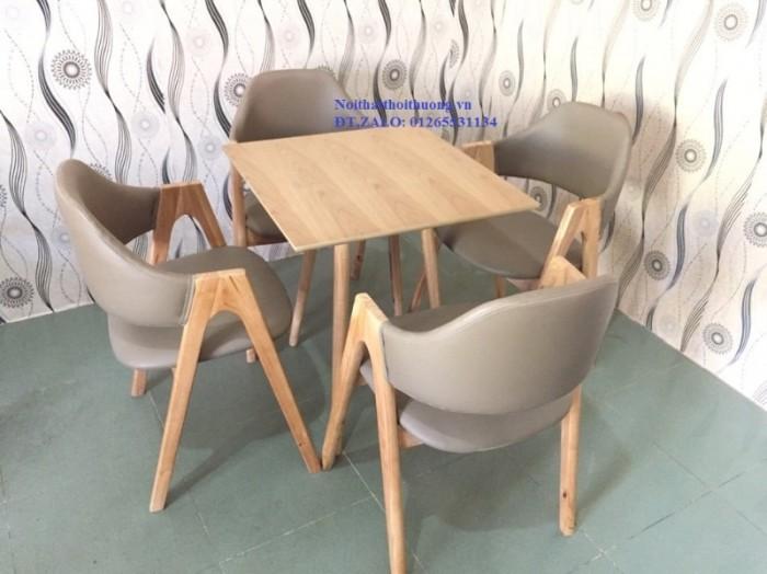 Bộ bàn ghế ăn chữ A2