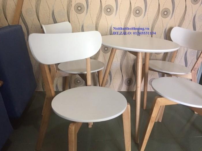 Bộ bàn ghế mặt tròn0
