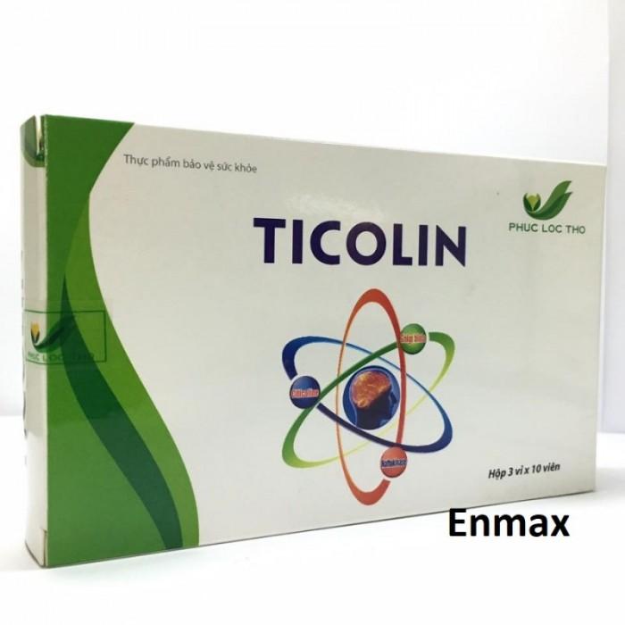 Ticolin giúp an thần, ngủ ngon, hỗ trợ điều trị sau tai biến