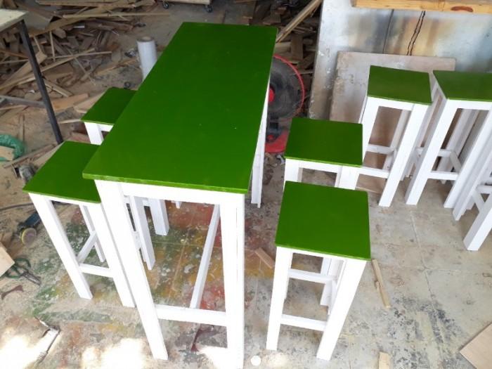 Bàn ghế trà sữa đẹp TS 063