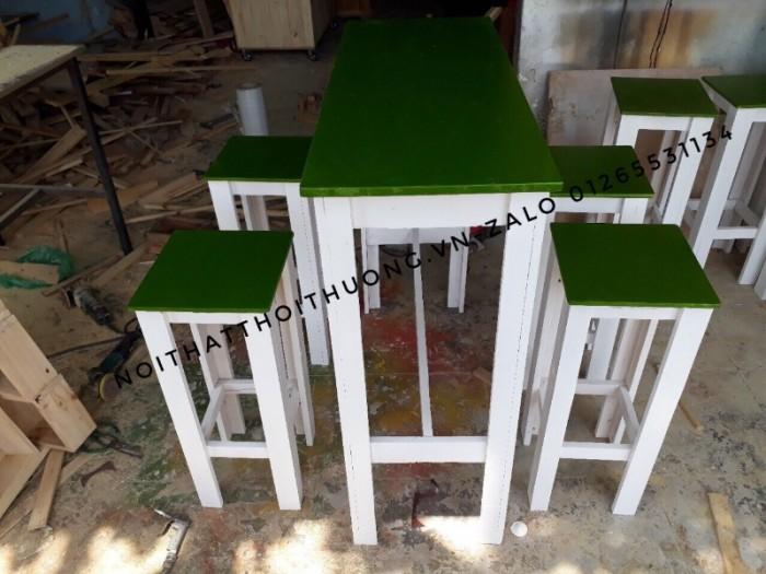 Bàn ghế trà sữa đẹp TS 064