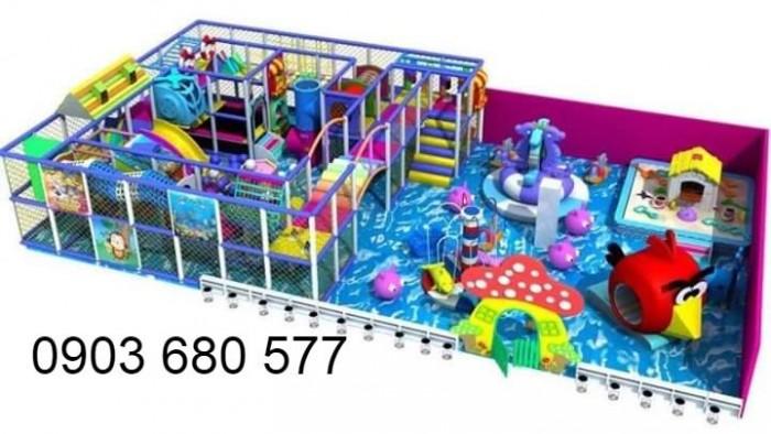 Chuyên nhận thi công khu vui chơi trẻ em trong nhà và ngoài trời0