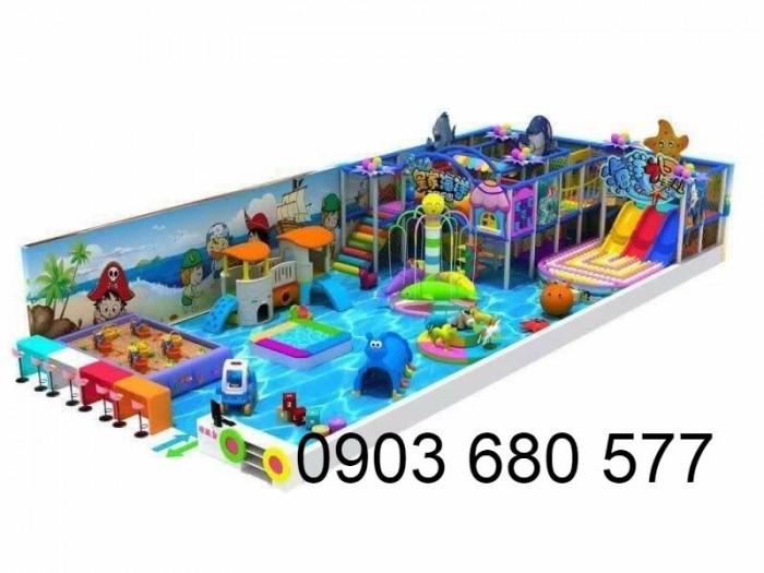 Chuyên nhận thi công khu vui chơi trẻ em trong nhà và ngoài trời2