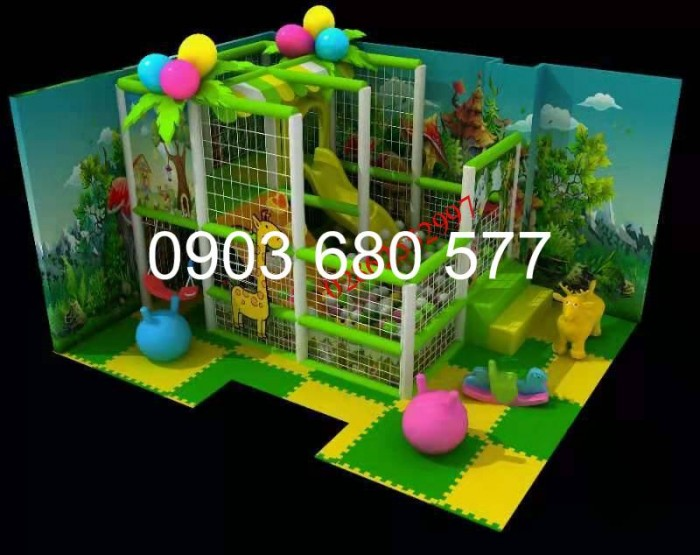 Chuyên nhận thi công khu vui chơi trẻ em trong nhà và ngoài trời3