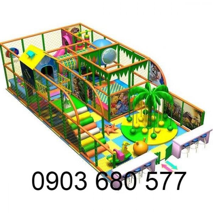 Chuyên nhận thi công khu vui chơi trẻ em trong nhà và ngoài trời17
