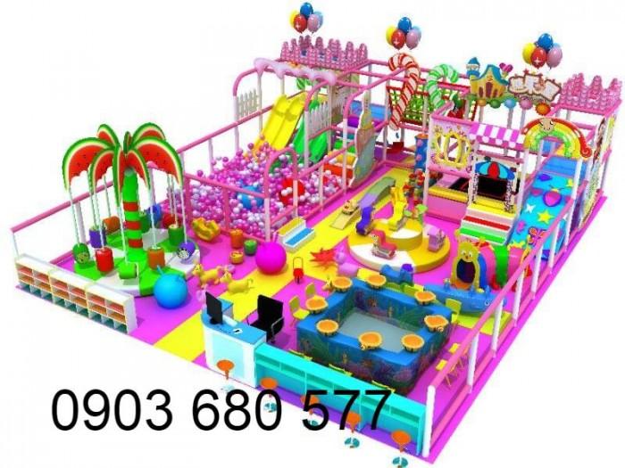 Chuyên nhận thi công khu vui chơi trẻ em trong nhà và ngoài trời13